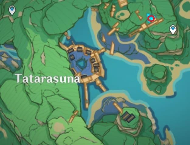 49 Electroculus In Narrow Space Tatarasuna Map