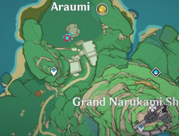 59 Electroculus Inside Underground Ruin In Araumi Map