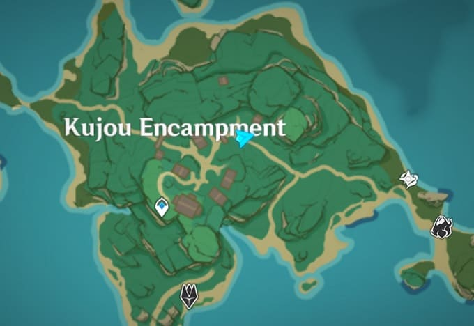 7 Front Line, Kannazuka Map