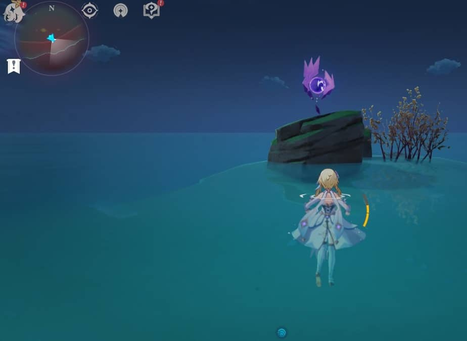 70 Electroculus Small Island South Of Yashiori By Swimming In Game