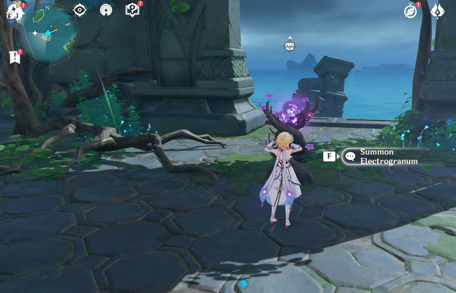 74 Can Be Reached With Thunder Sakura Bough In Small Island In Game