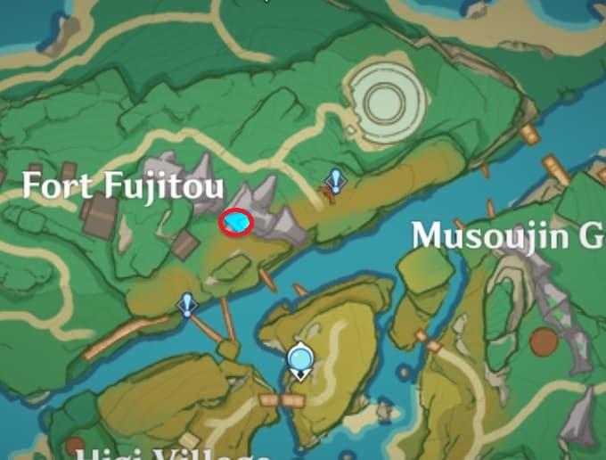 Electroculus Floating Above Great Serpent Bone Map