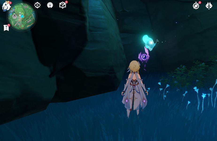 87 Inside Small Cave In Jakotsu Mine Beside Seelie In Game