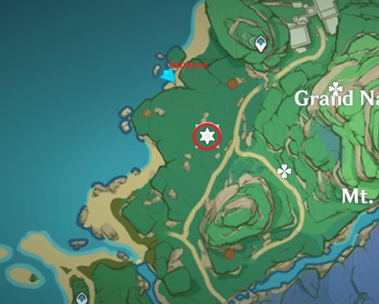 9 Electroculus Inside The Cave Shrine Map