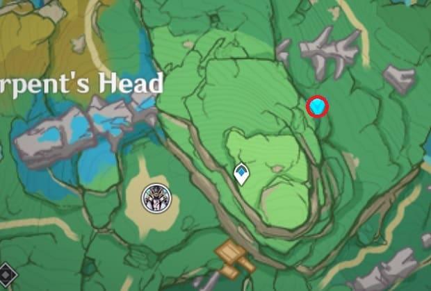 91 Electroculus Between 2 Trees Map