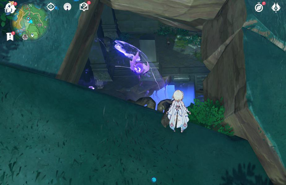 92 Electroculus At Small Ruin Entrance Near Momiji Dyed Court Domain In Game