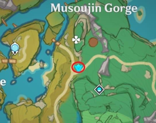 93 Electroculus Near Momiji Dyed Court Map