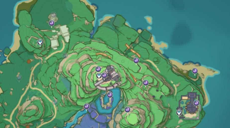 All Electroculus Location In Inazuma