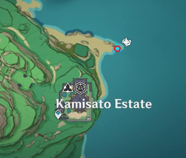 First Old Stone Slate In Kairagi Camp Map