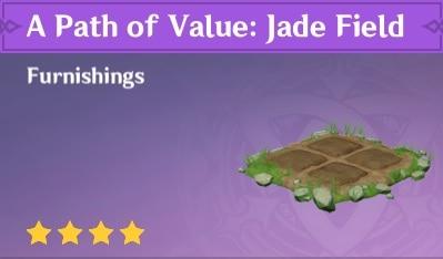 Furnishing A Path Of Value Jade Field