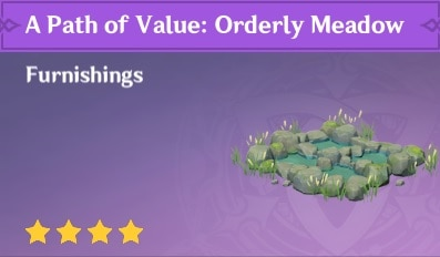 Furnishing A Path Of Value Orderly Meadow
