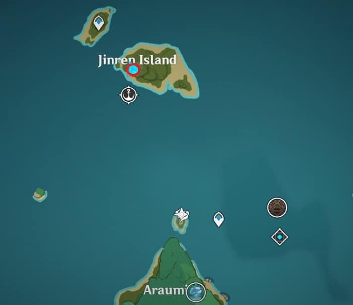 Head to Jinren Island
