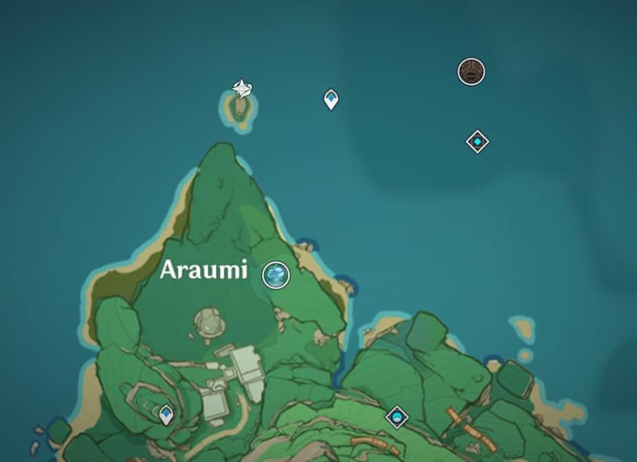 Narukami Island Underground Teleport Waypoint And Domain
