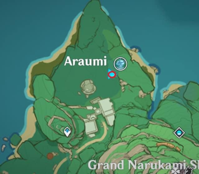 Third Old Stone Slate In Underground Ruin Araumi Map