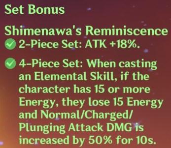 4 Shimenawa Set Bonus