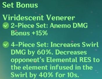 4 Viridescent Venerer Set Bonus