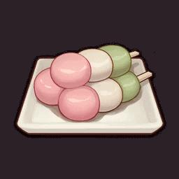 Cooking Tricolor Dango