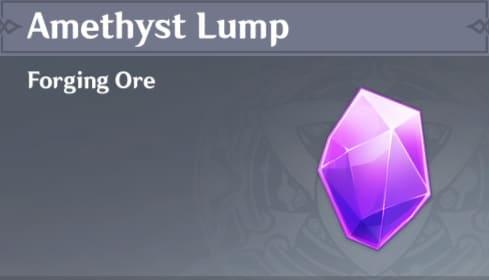 Forging Amethyst Lump