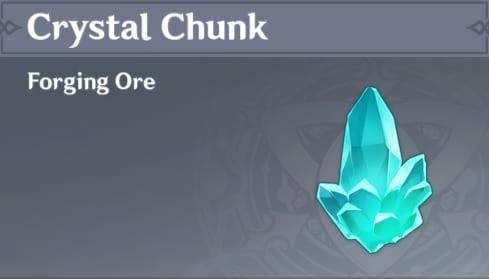 Forging Crystal Chunk