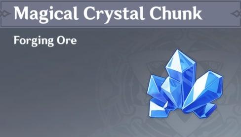 Forging Magical Crystal Chunk