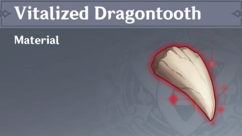 Forging Vitalized Dragontooth