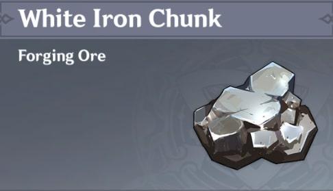 Forging White Iron Chunk