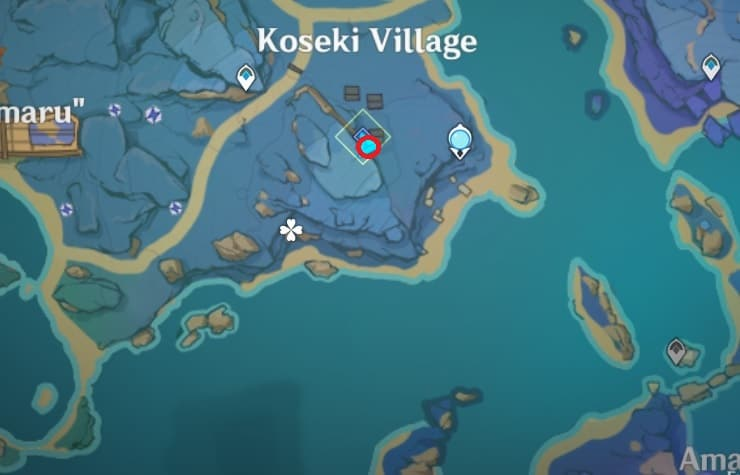 121 Electroculus require Relic of Seirai map
