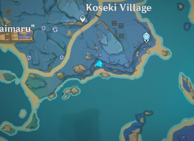 122 electroculus floating above broken bridge map