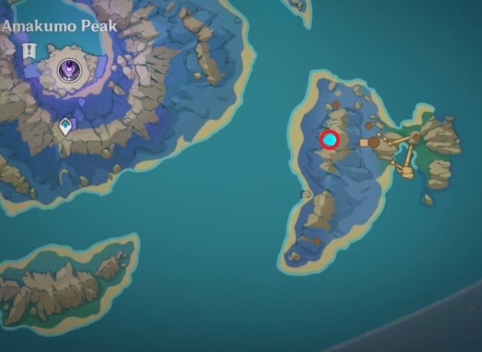 138 electroculus above floating rock in the island southeast of amakumo peak map