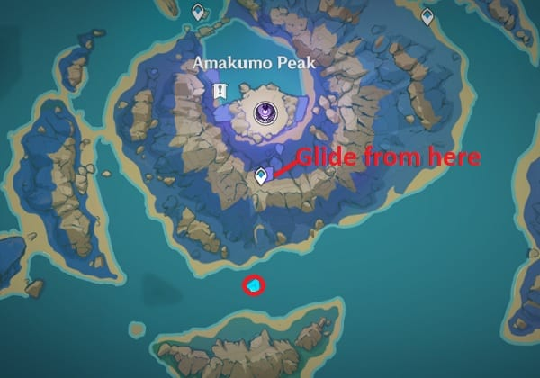 140 electroculus above floating rock map