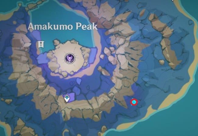 141 electroculus southeast of amakumo peak teleport waypoint map