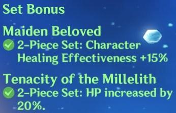 2 Maiden + 2 Millelith Set Bonus