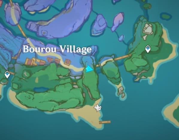 97 Under natural stone bridge map