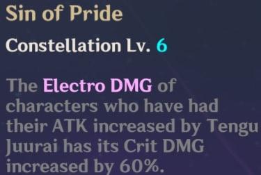 C6 Sin of Pride