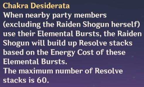 Chakra Desiderata Description