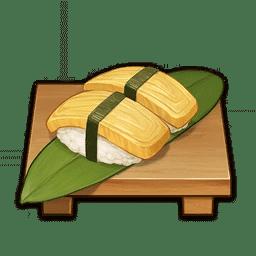 Cooking Bird Egg Sushi