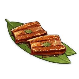 Cooking Grilled Unagi Fillet