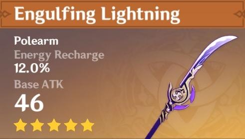 Engulfing Lightning Polearm
