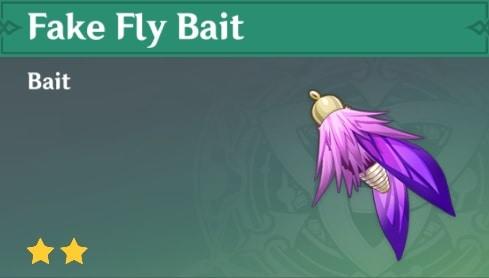 Fake Fly Bait