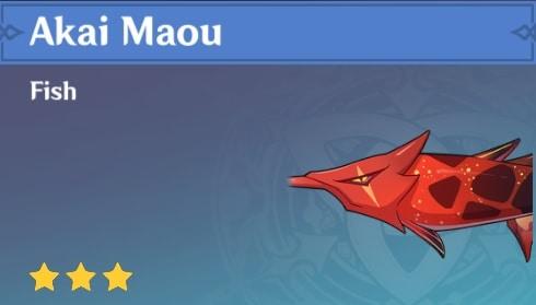 Fish Akai Maou