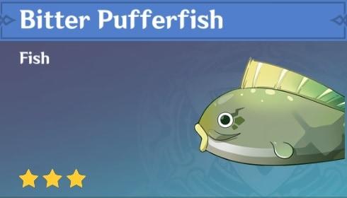 Fish Bitter Pufferfish