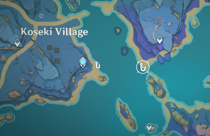 Fishing Location East of Koseki Village