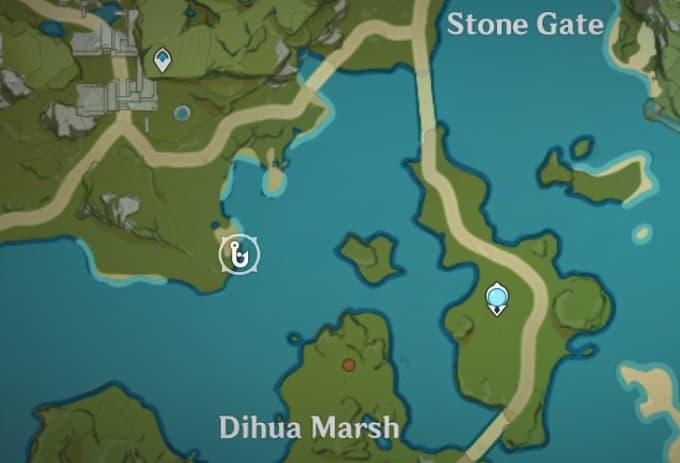 Fishing Location in Dihua Marsh