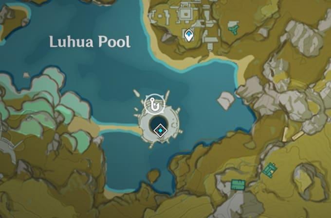 Fishing Location in Luhua Pool