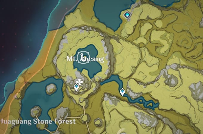 Fishing Location in Mt Aocang