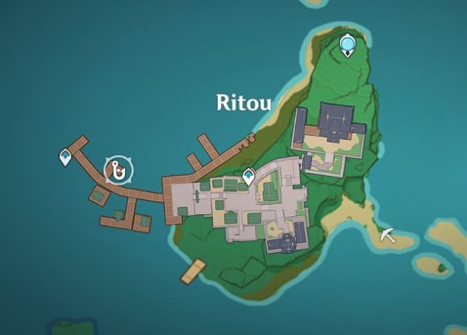 Fishing Location in Ritou