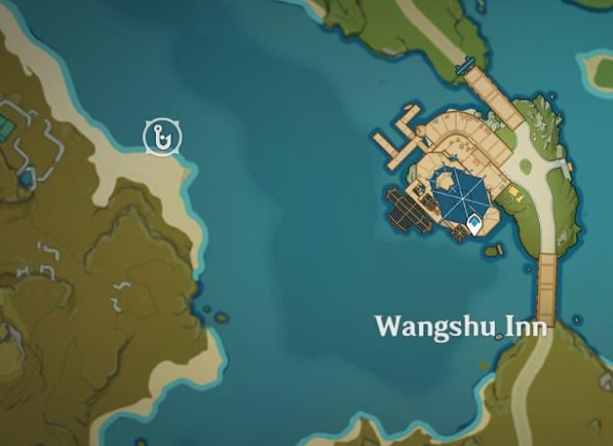 Fishing Location in West of Wangshu Inn