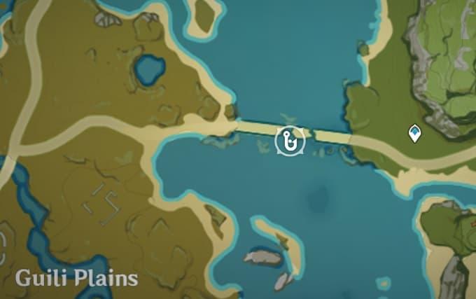 Fishing Location in the broken bridge