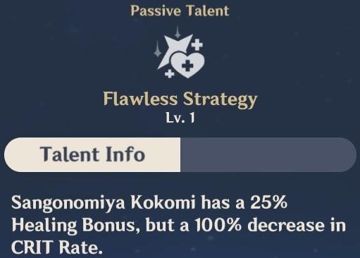 Flawless Strategy Talent Info