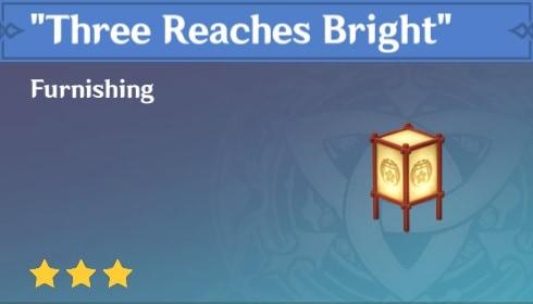 Furnishing Three Reaches Bright